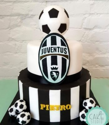 Torta Con Palloni E Stemma Della Juventus Nel 2019 Torte A