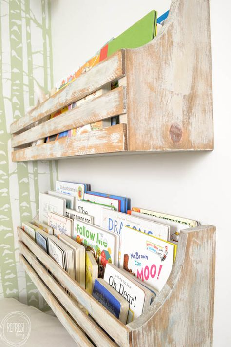 Diy Wall Mounted Bookshelves Refresh Living Wall Mounted Bookshelves Bookshelves Diy Diy Furniture Bedroom