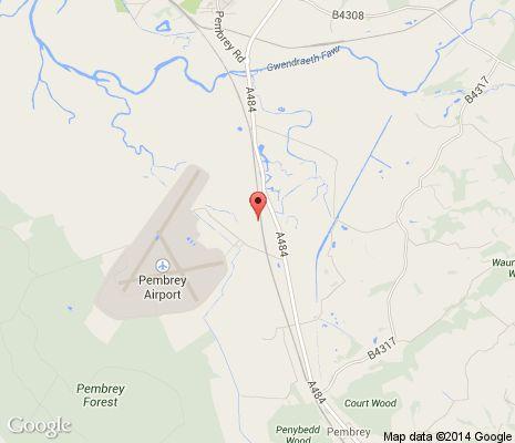 Pembrey Circuit, Lanelli, Swansea, South Wales.