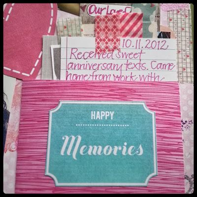 Smashbook Idea: A Handmade Pocket to Hold Project Life Journal Cards -- Use Washi Tape Tabs for Easy Access! | From My Blog, A Crafty Island Girl -CLM