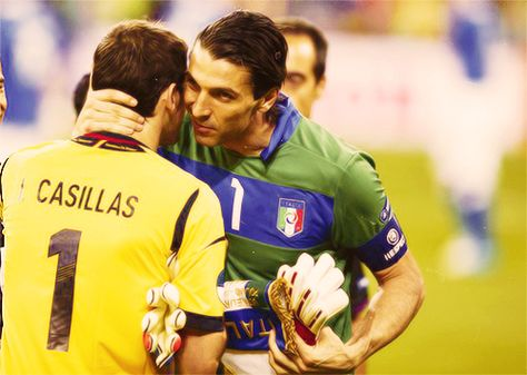 Casillas...and Buffon? WHAT?!?!?! *SWOONS*