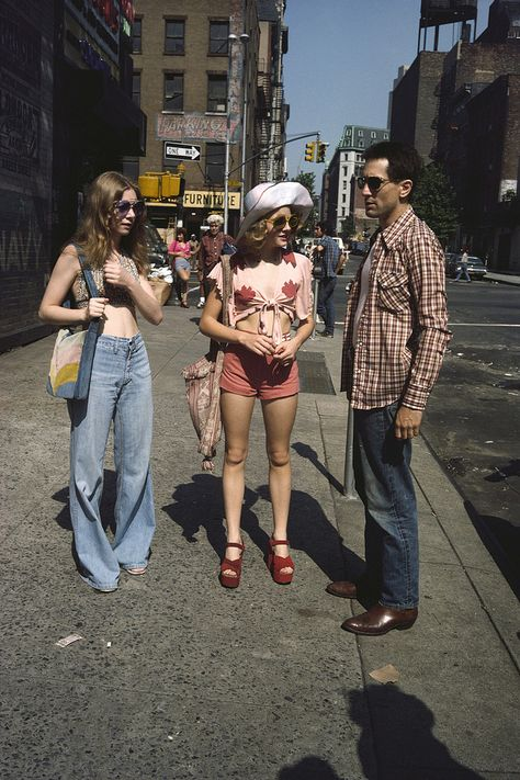 Love the 1970's style of Taxi Driver, especially the look of Jodie Foster