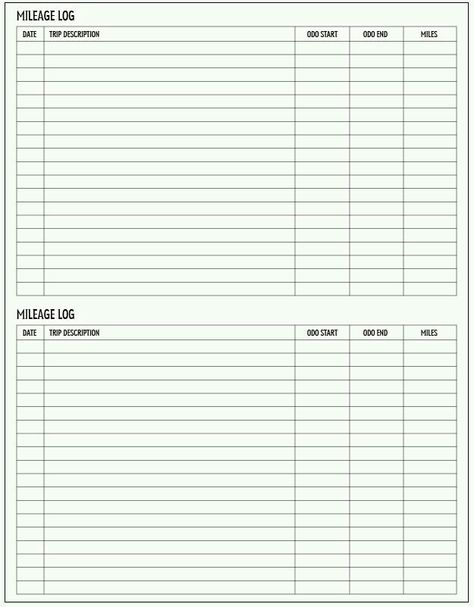 Gas Log Worksheet Printable  Free Worksheet  Printable