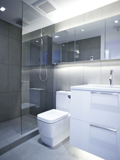 Lovely Dusche Badgestaltung Kleines Bad Moderne Badezimmer | Badezimmer |  Pinterest | Bathroom Designs, Interiors And Room Great Pictures