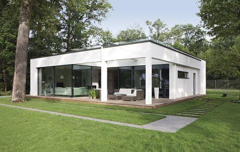 Charmant Bungalow Finess 135 | Wohnen Auf Einer Ebene | Fertighaus | Ideen Rund Ums  Haus | Pinterest | Bungalow, House And Architecture