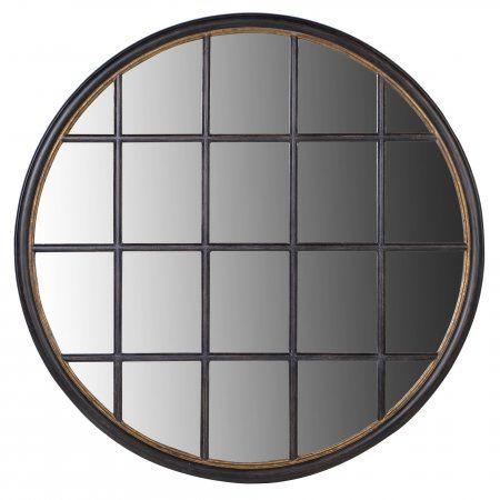 Circular Window Pane Mirror View All Mirrors Mirrors By Type Mirrors Window Mirror Mirror Window Pane Mirror