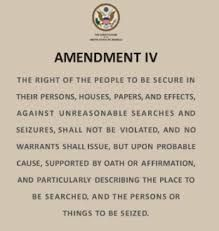 This law protects United States citizens against unreasonable search and seizures. Permitting them from searching someone's car, home, or phone for example.