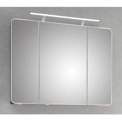 Spiegelschrank Weiss Mit Beleuchtung 50 Cm Breit Rollerroller In 2020 Spiegelschrank Grau Led Beleuchtung