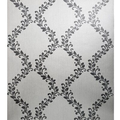 Contemporary Geometric circles modern wallpaper taupe tan ombre wallcoverings 3D