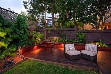 Houzz Home Design Decorating And Remodeling Ideas And Inspiration Kitchen And Bathroom Design Bac Small Backyard Decks Small Backyard Landscaping Backyard