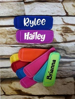Personalized popsicle holder