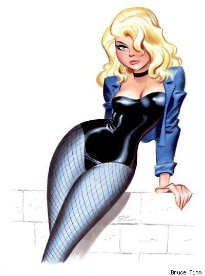 Black Canary by Bruce Timm. Black Canary by Bruce Timm. Bruce Timm, Comic Book Characters, Comic Character, Comic Books Art, Comic Art, Bd Comics, Comics Girls, Flash Comics, Girl Cartoon
