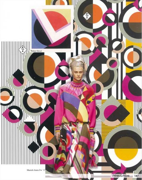 Prints & More - A / W 18/19 - Estampes et motifs - Prévisions de style ...