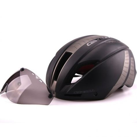 Bicycle Helmet In-Mold Road Bike Sports Riding Speed Cycling Helmet With Goggles