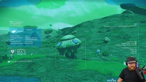 "TheHaggardNerd on Instagram: ""In today's episode of No Man's Sky: I stumble upon an interesting planet that is both organic and digital.⠀ ⠀ Watch more of this episode…"""