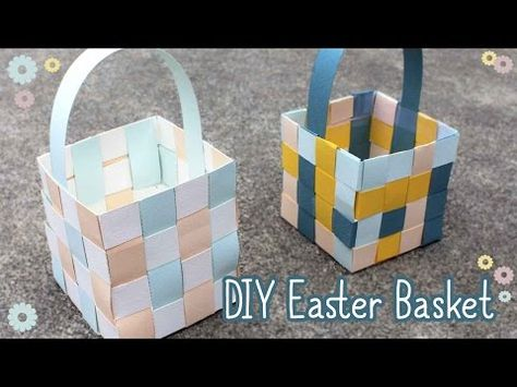 Digging Deep ... to Soar Beyond the Text: Three Easy Weaving Easter Baskets