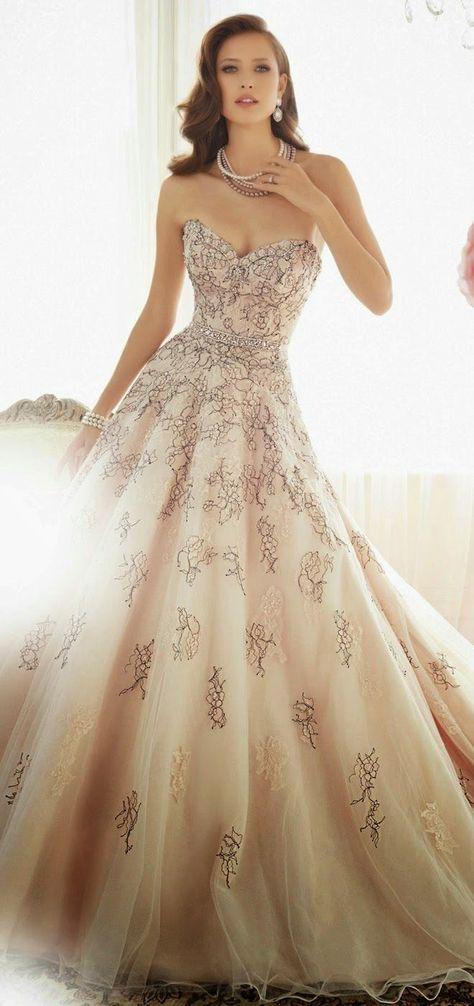 Vestiti Da Sposa Fantastici.Come Indossare Un Abito Color Cipria 25 Fantastiche Idee