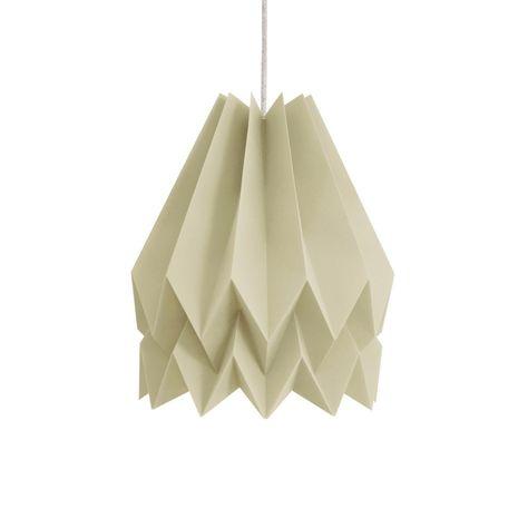 ORIKOMI Plain Light Taupe Lamp (com imagens)   Feito a mão