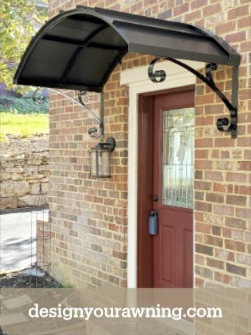 Beautiful Door Awnings In 2020 Door Awnings Beautiful Doors Front Porch Design