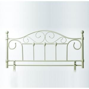 Julie White Cream Double Metal Headboard 69 House Pinterest Metals Decorating And Bedrooms