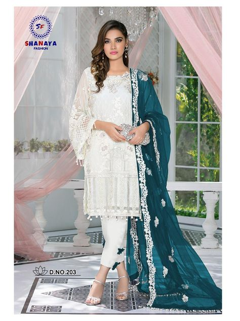 Wholesale Occasional Festive Wear Georgette Embroidery Salwaar Suit With Net Dupatta Collection. LKFABKART is a wholesale pakistani suits dealer and best customer service.