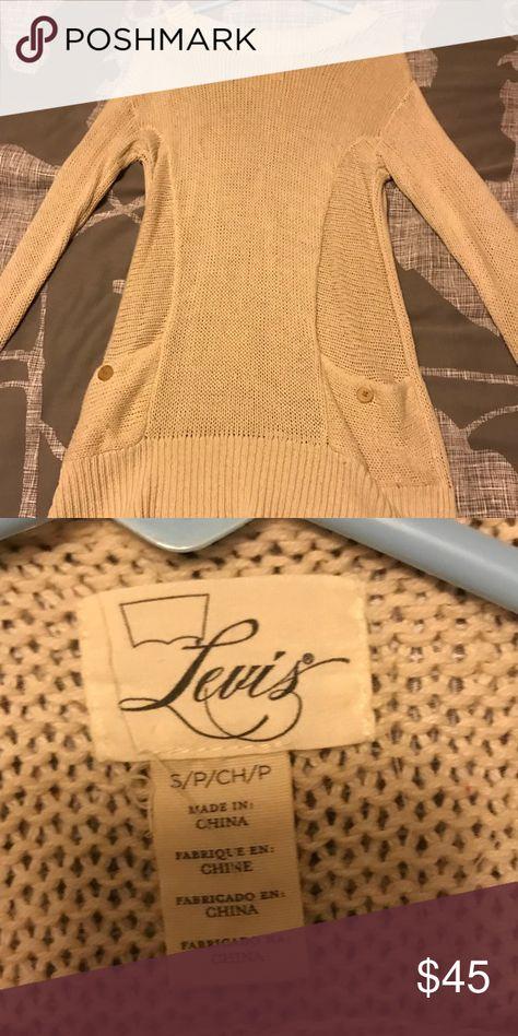 Levi's Sweater Dress Long Levi's Sweater Dress with Pockets! Levi's Sweaters Crew & Scoop Necks