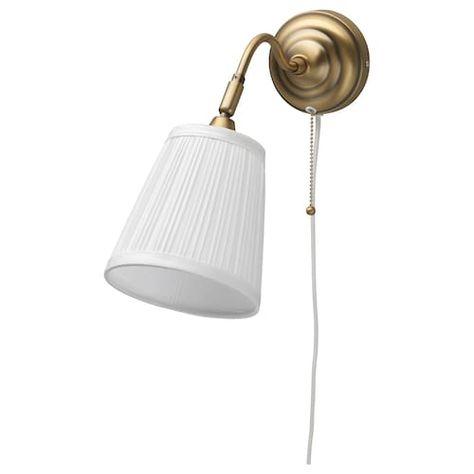 RANARP Wallclamp spotlight off white | Ikea wall lamp
