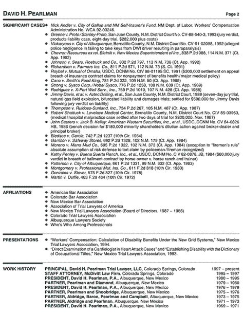 The Differences Junior vs Senior Level Resumes Cover letter - bar resume examples