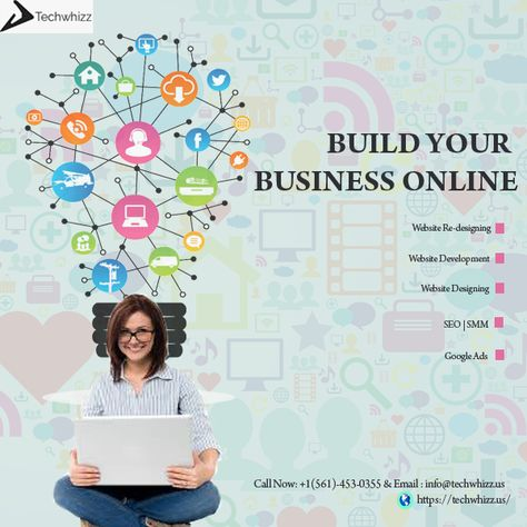 ~Build Your Business Online With Techwhizz - A Creative Website Design and Digital Marketing agency