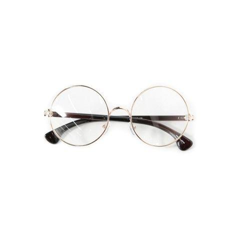 BESTUM Round Vintage Plain Glasses for Women Men clear Lens Retro Glasses Frame Non Prescription glasses