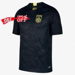 finest selection 792a9 b9b83 2018 Cheap Soccer Jersey China Away Replica Black Shirt ...