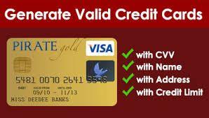Credit Card Number Validators Or Checker And Generators