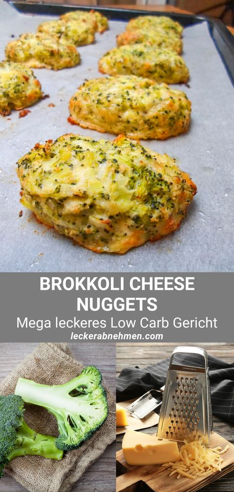 Leckere Brokkoli Käse Nuggets - Low Carb Rezept