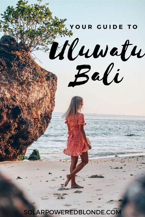 You guide to Uluwatu, Bali, Indonesia. Where to eat and what to do! Best #beaches in #bali #uluwatu #indonesia #travel #traveltips #traveldestinations
