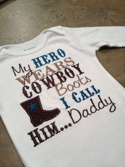 Hey, I found this really awesome Etsy listing at http://www.etsy.com/listing/120371529/my-hero-wears-cowboy-boots-i-call-him