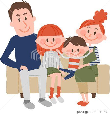 家族のイラスト素材 No 28024065 写真素材 イラスト販売のpixta