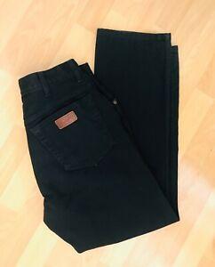 Ladies Authentic Wrangler Jeans W35 L32 Black Straight Vgc American Jeans Ebay American Jeans Wrangler Jeans Wrangler