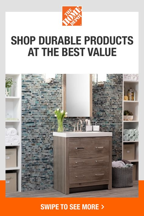 Explore Glacier Bay for top-quality products with stylish designs that will give your home a wow factor. Shop products that last and get them delivered or easily pick up in store fast. Tap to shop now at The Home Depot.