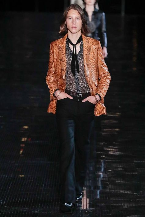 Saint Laurent Spring/Summer 2019 Menswear | British Vogue