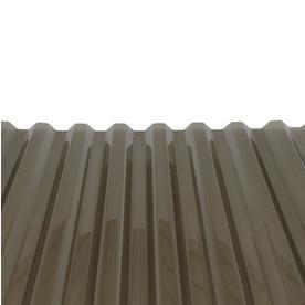 Tuftex Polycarb 2 17 Ft X 12 Ft Corrugated Clear Polycarbonate Plastic Roof Panel Lowes Com Polycarbonate Roof Panels Roof Panels Plastic Roofing