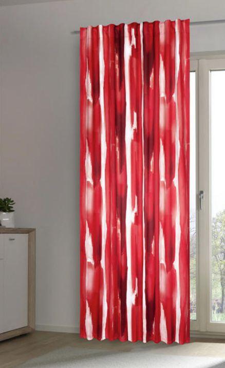 Fertigvorhang Rot Verschiedene Farben
