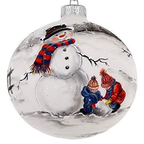 glitter and paint Christmas tree balls retro holiday d\u00e9cor Light green Egg shaped handpainted with rhinestones Vintage tree ornament