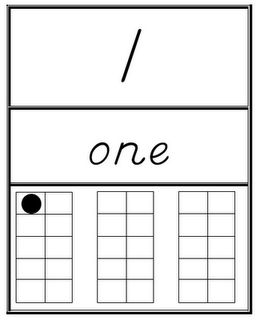 Here's a set of posters from 1-30 designed to be displayed as a classroom number line. Includes the numeral, number word, and ten frame representation.
