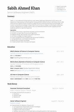 Image Result For Senior Software Engineer Resume Engineering Resume Software Engineer Resume Software