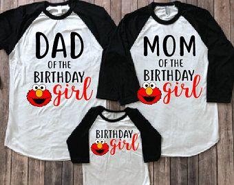 c02e5c43 Elmo birthday shirt, elmo family shirts , elmo birthday party, elmo theme  shirts, elmo mom, elmo dad, elmo girl, elmo birthday girl