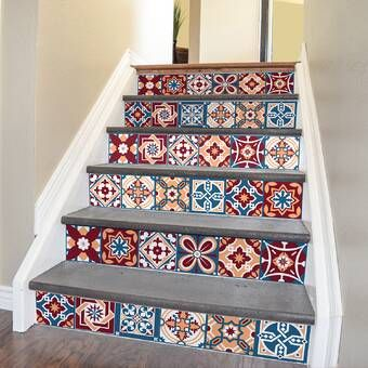 Arla Tiles Wall Decal Wall Decals Tile Stairs Striped Tile