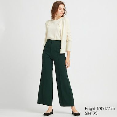 Mustard Wide Leg High Waist 1940/'s Style Vintage Retro Trousers Banned Apparel