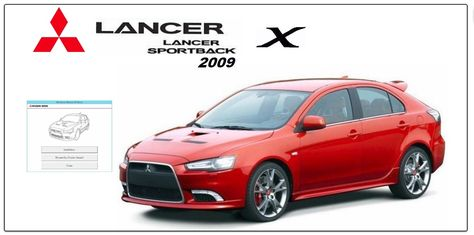 Mitsubishi Lancer Sportback X 2009 Workshop Manual