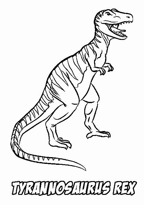 Tyrannosaurus Rex Coloring Page Luxury Realistic Dinosaur Coloring Pages In 2020 Dinosaur Coloring Pages Dinosaur Coloring Coloring Pages