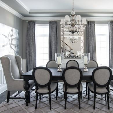 Gray Dining Room - Dining Room Colors - 8 Inviting Colors - Bob ...